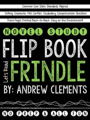 Frindle Novel Study Flip Book from School Rules on TeachersNotebook.com (10 pages)