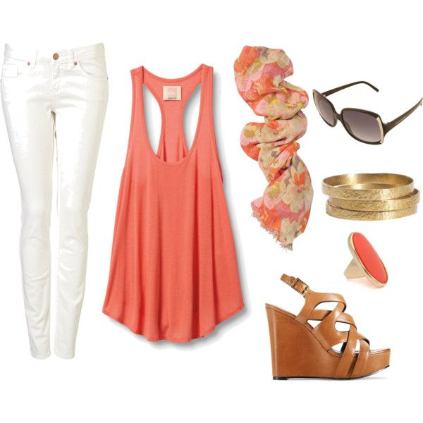 Summer Casual., created by victoriahaynes on Polyvore