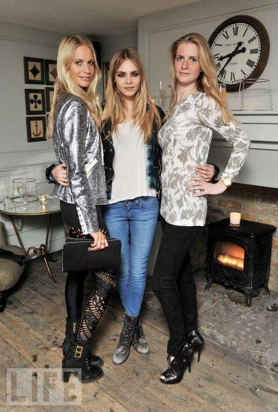 LOVING MY JET LAG...: Cara and Poppy: The sisters