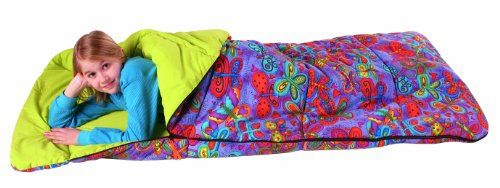 Kids Sleeping Bag - Pin it :-) Follow us :-))  zCamping.com is your Camping Product Gallery ;) CLICK IMAGE TWICE for Pricing and Info :) SEE A LARGER SELECTION of kids sleeping bag at  http://zcamping.com/category/camping-categories/camping-sleeping-bags/kids-sleeping-bag/  - hunting, camping essentials, camping, sleeping bag, camping gear -  Bazoongi Big Kids Slumber Bag, Butterfly « zCamping.com