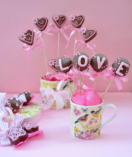 Cake pops de San Valentín y mi carta de amor a la calefacción...