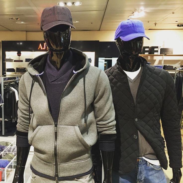 Visual Merchandising para Armani Jeans