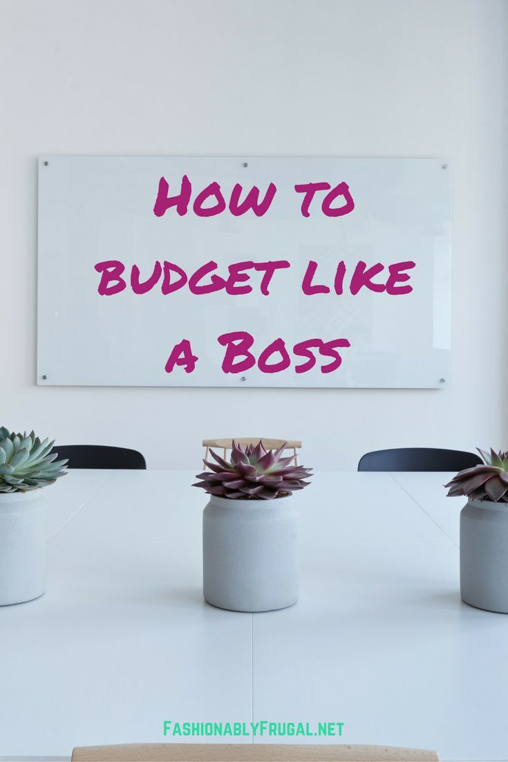 How to stick to a budget like a boss. Real world experience from someone who has been there before