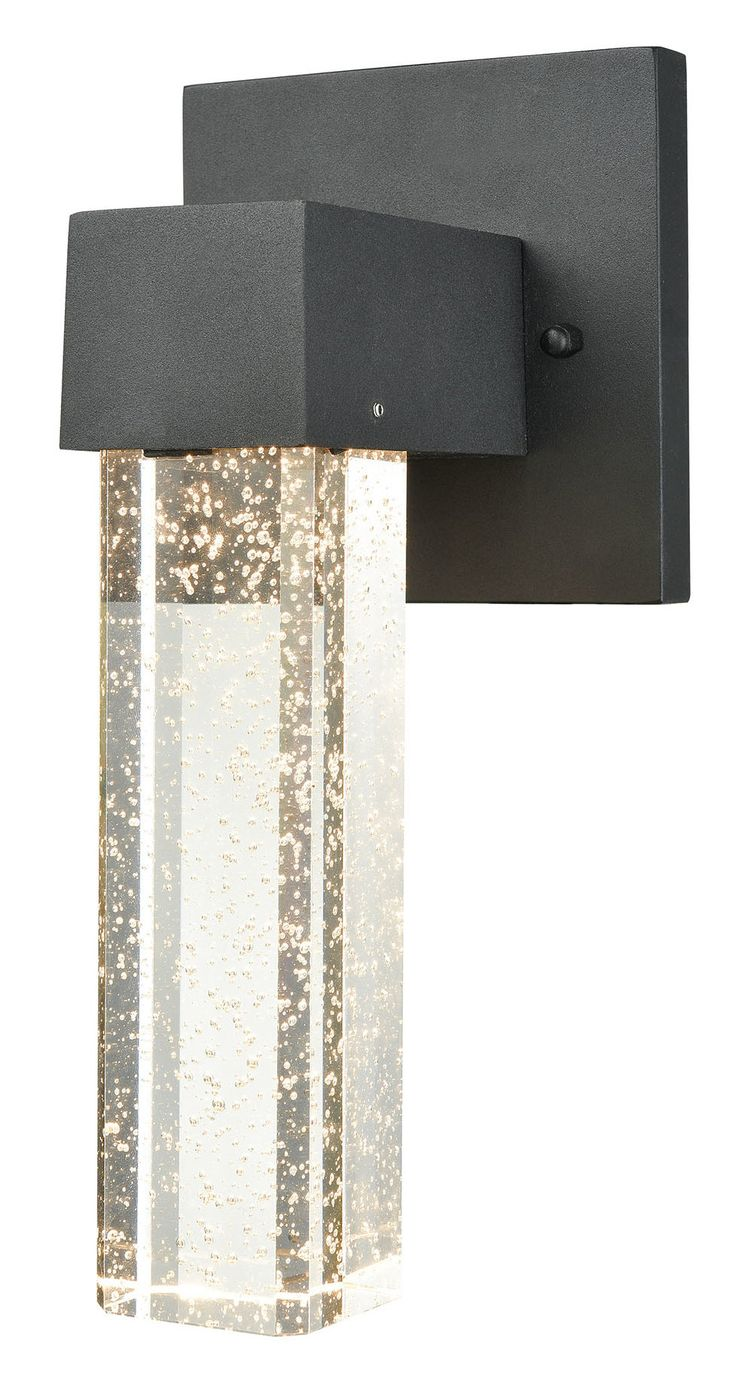 Graney Dimmable LED 1-Light Outdoor Sconce