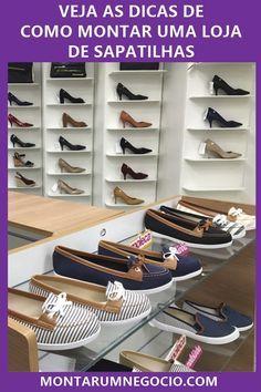 467c43adf Clique na imagem e descubra como montar uma loja de sapatilhas passo a  passo. #