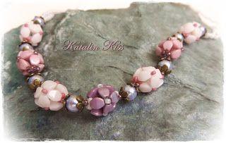 Szilmarilla: Pinch beads - Hortenzia