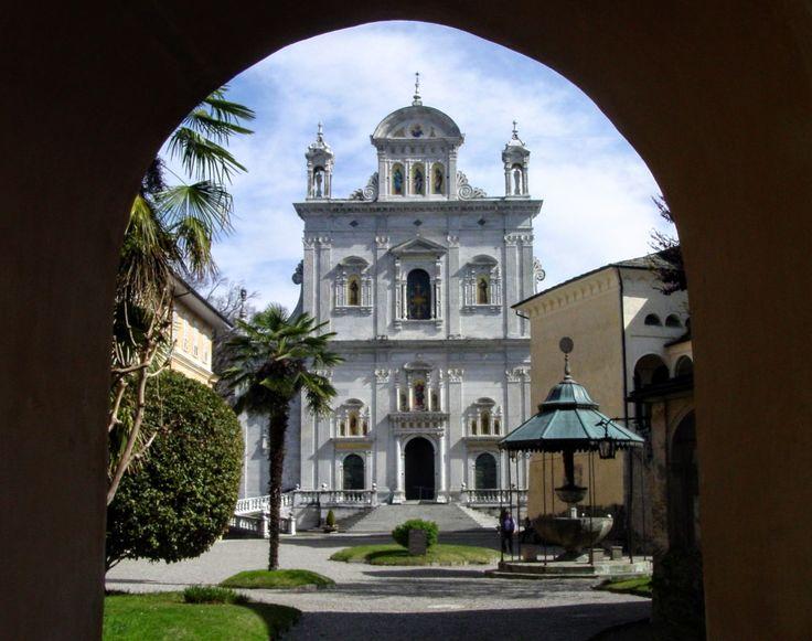 #sacrimontisocial #sacromonte #varallo Basilica Sacro Monte di Varallo UNESCO
