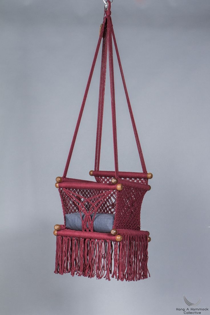 Baby Swing Chair in Red W i
