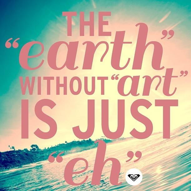 'Go Green' #ROXYDARES   Happy Earth Day Everyone!
