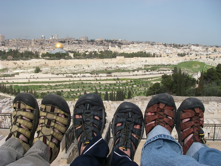 Jerusalem, from the Mount of Olives