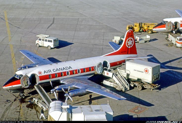 Vickers 757 Viscount aircraft picture