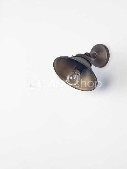 biliardo muurlamp brons online verlichting webshop living shopeu