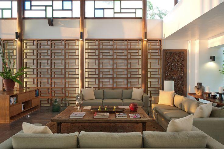 Library or lounge ata Jeeva Santai Villas