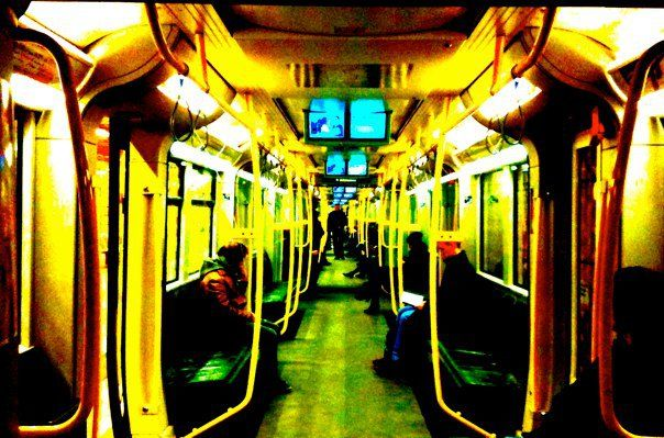 U-Bahn  Photographed by Margrethe Tang