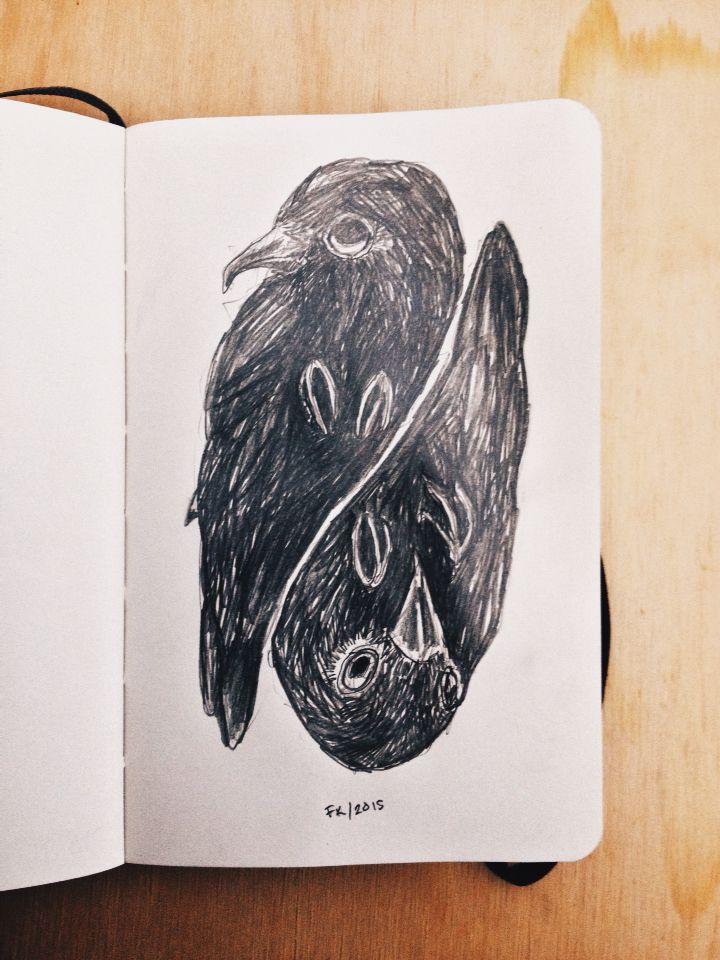 Yo era el malo. #black #illustration