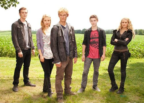 I Am Number Four (Left to right) Jake Abel as Mark James ...