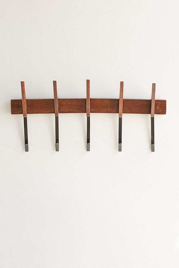 Mid Century Modern Wall Multi Hook With Images Modern Wall