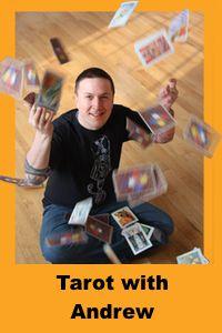 Tarot Readings by Andrew McGregor, The Hermit's Lamp, Toronto, Ontario  #tarotdayincanada