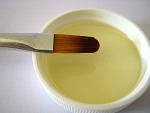 Aceite linaza para pintar al óleo
