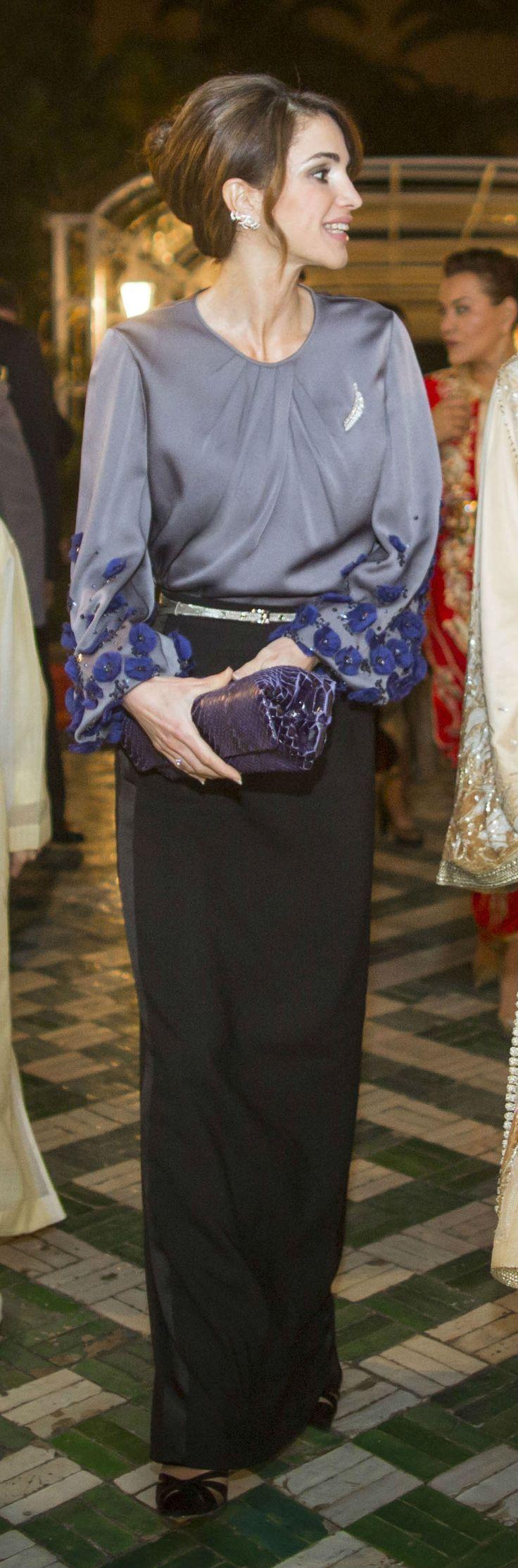 En photos, les épouses des rois du Maroc et de Jordanie - Lalla Salma et la…