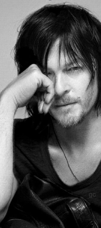 If you can't tell by now, Norman Reedus is my celebrity crush