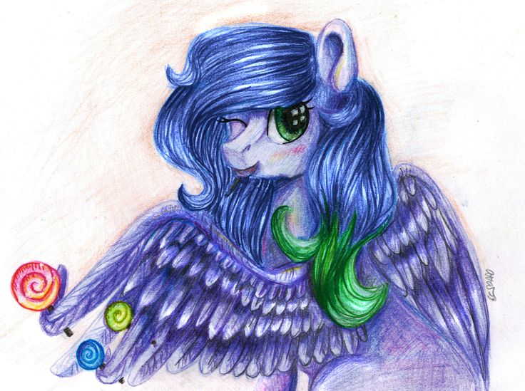 Sweet pony by Manu-nya.deviantart.com on @DeviantArt