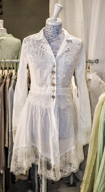 Beautiful Boholicious Shabby Chic Top or jacket. love the sheer