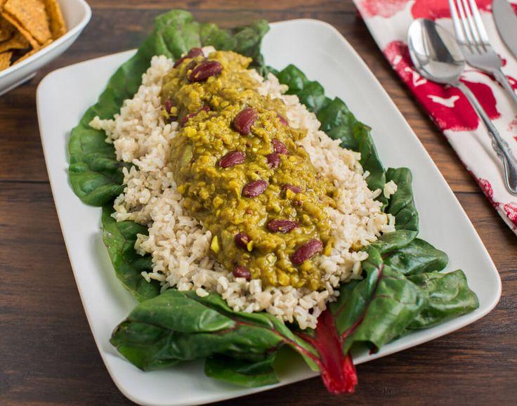 Fragrant Kidney Bean Lentil Dal Recipe from Forks Over Knives