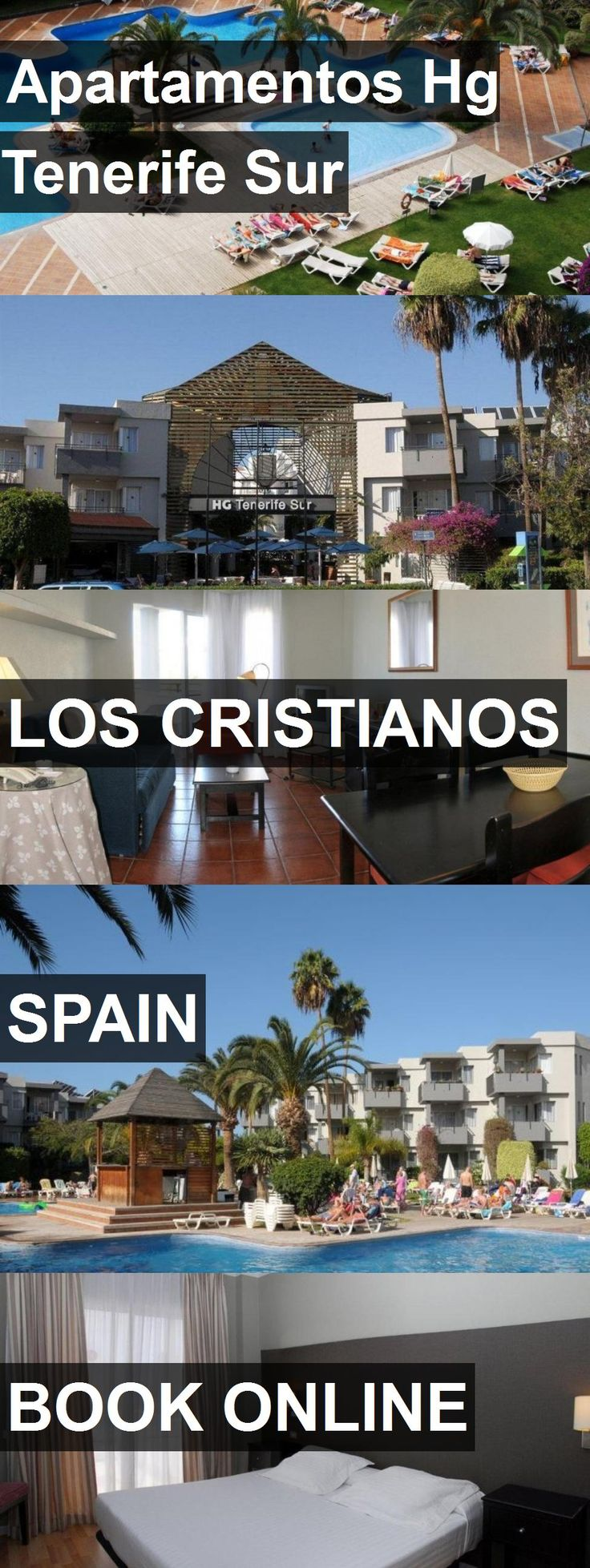 Hotel Apartamentos Hg Tenerife Sur in Los Cristianos, Spain. For more information, photos, reviews and best prices please follow the link. #Spain #LosCristianos #hotel #travel #vacation
