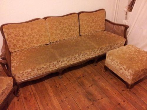Retro 50er 60er 70er Chippendale Sofa Couch Sitzgarnitur In Berlin