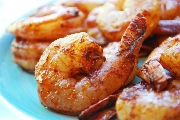 """What would I do if I could not have """"scrimps"""" in my weight loss plan? - LOL! Well, this healthy  - Spicy Grilled Shrimp"""" Recipe definitely makes it possible for me to have them. Check it out!"""