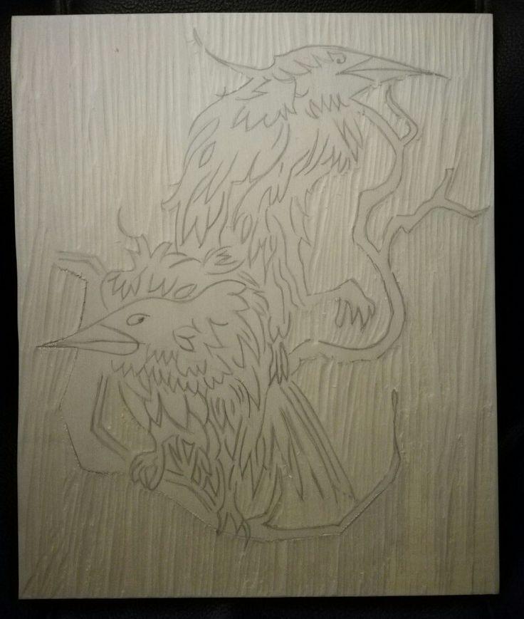 Per adesso c'è il disegno. Tutto il resto arriverà! Restate collegati!! Disegno su legno. Da pirografare.