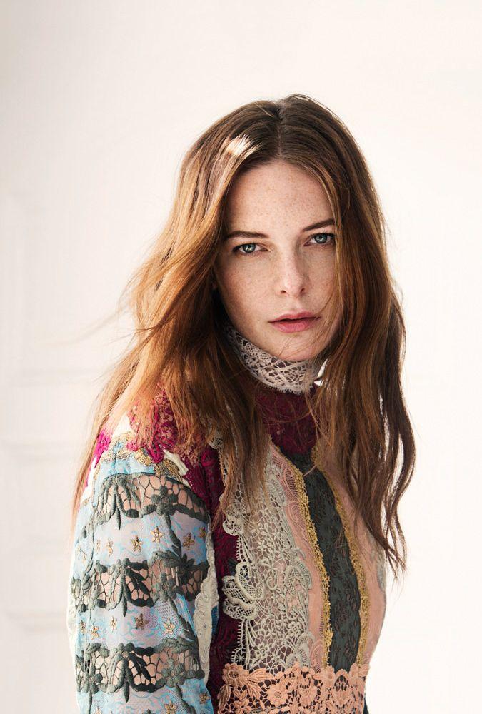 Ребекка Фергюсон — Фотосессия для «Elle» SE 2015 – 5