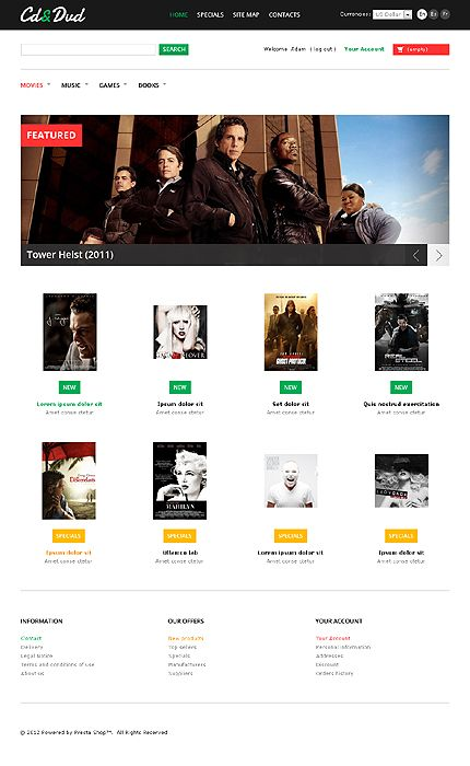 CD & PrestaShop Themes by Hermes