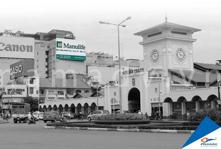 Bảng quảng cáo Manulife - 121 Lê lợi, Phường Bến Thành, Quận 1, Tp. HCM