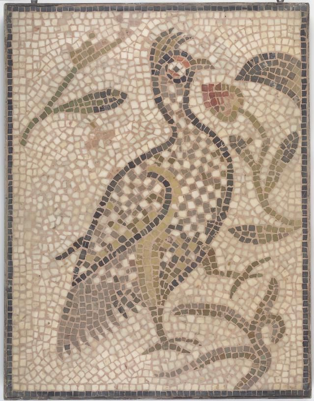 Little Known Roman Jewish Mosaic Art, Hamman Lif Synagogue in Tunisia: Partridge