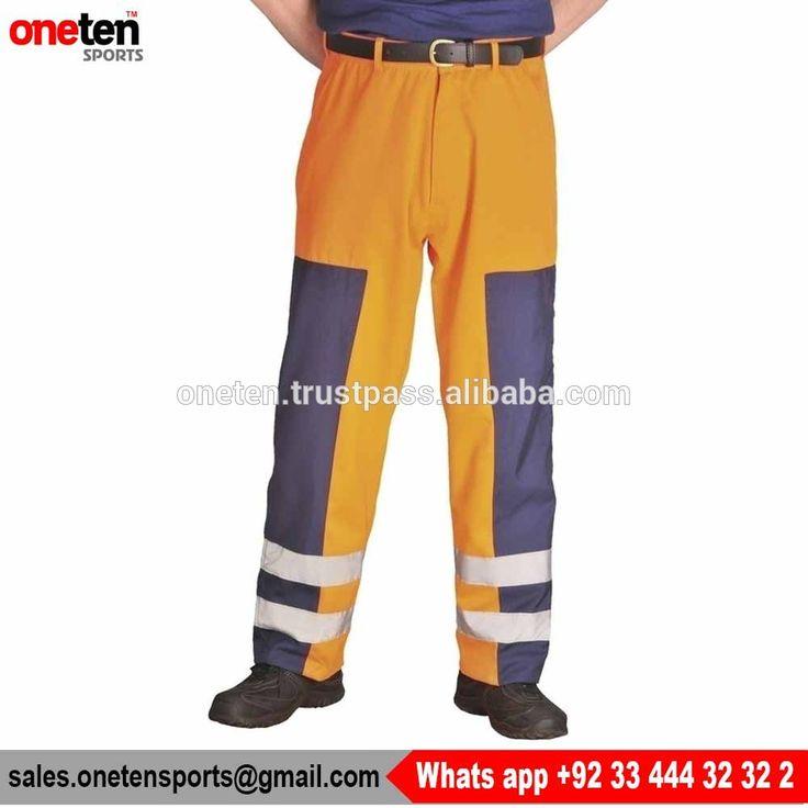 Cheap Safety Hi Vis Workwear Trousers Wohesale- Workwear