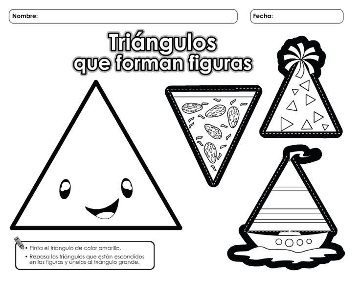 actividades de figuras geometricas en preescolar - Buscar con Google