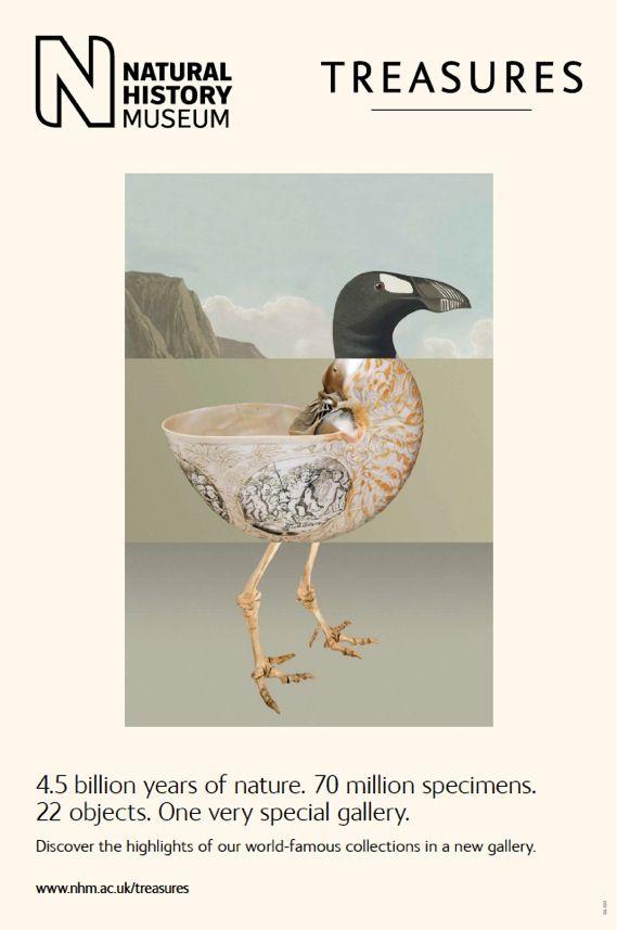 Creative Review - Natural History Museum: Treasures posters