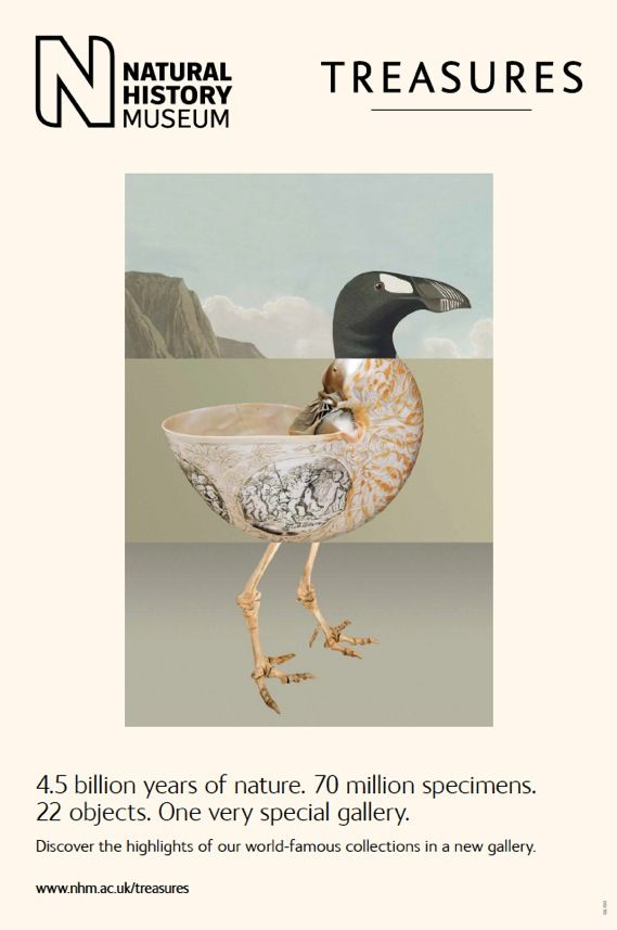 (via Creative Review - Natural History Museum: Treasures posters)