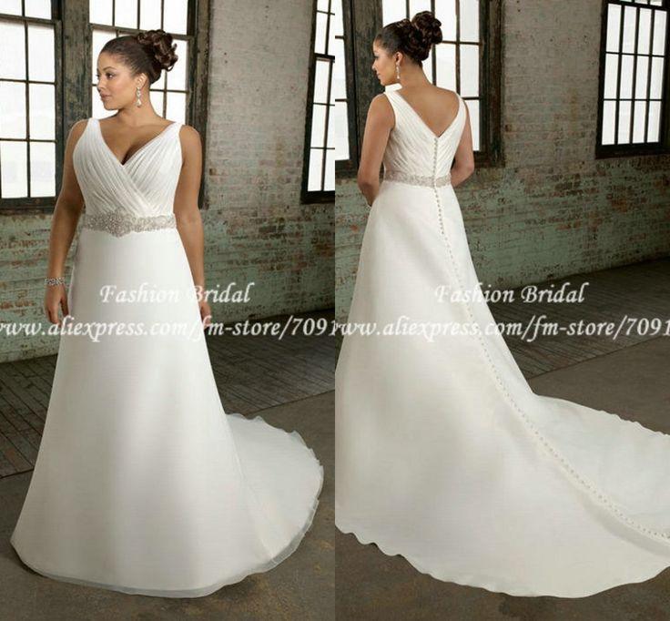 a line wedding dresses plus size - Google Search | *wEdDiNg ...
