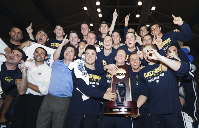 Chris Yoder coverage of NCAA men's swimming champions http://www.dailycal.org/2012/04/01/back-to-back/
