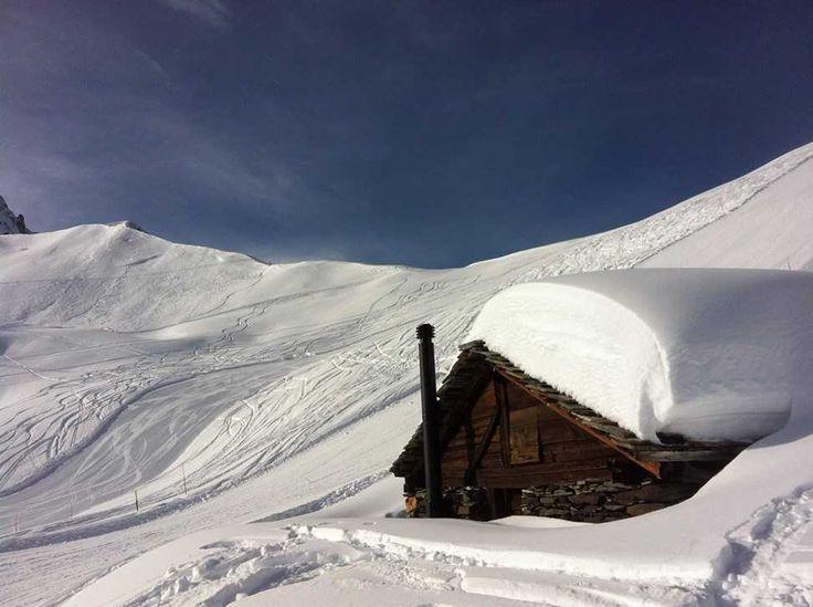 Au sommet des mayens de Bruson (2170m), dans le Val de Bagnes