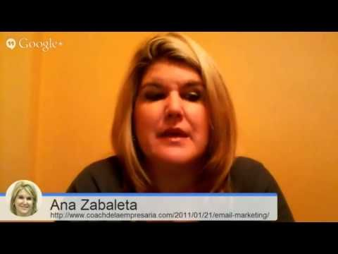 Email Marketing : Coach De La Empresaria
