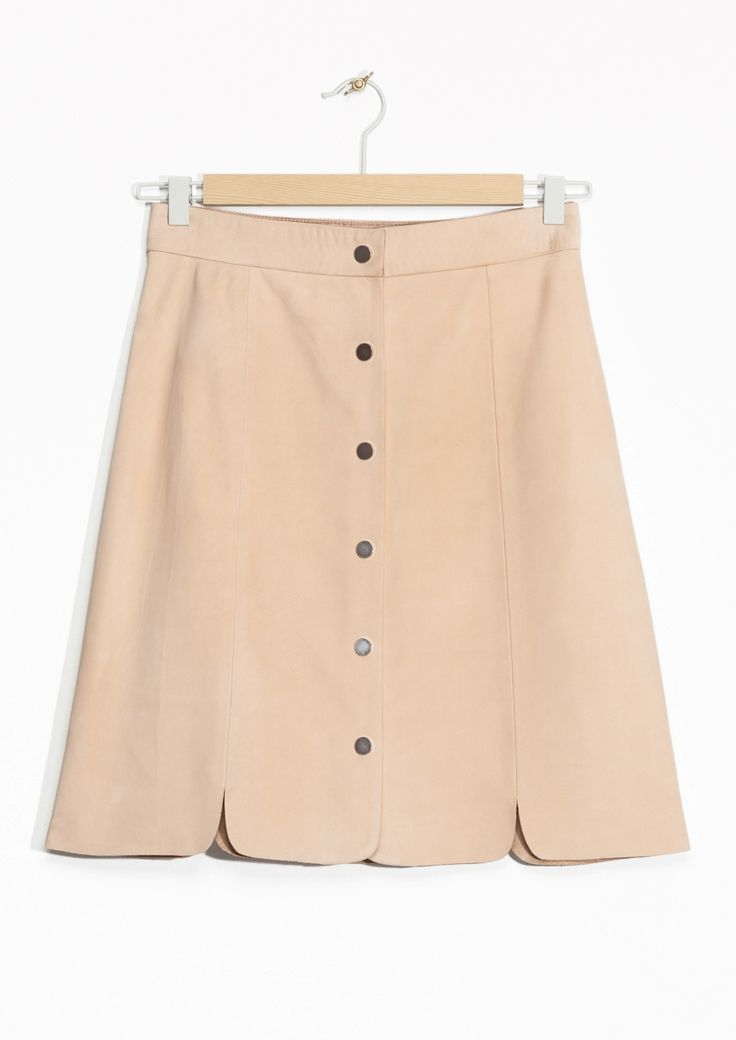 & Other Stories | Suede Skirt