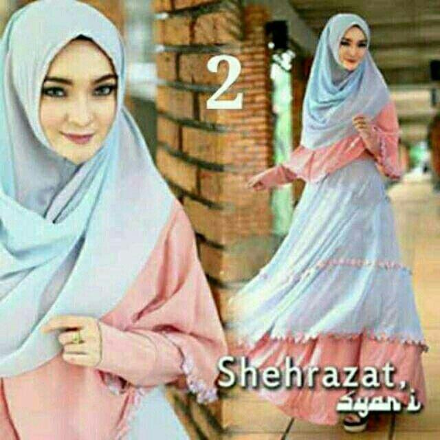Saya menjual Shehrazat 2 syari pink biru soft seharga Rp165.000. Dapatkan produk ini hanya di Shopee! http://shopee.co.id/alunashop/4347345 #ShopeeID