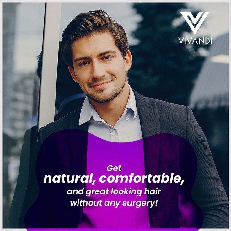 Simply put, nonsurgical hair replacement is the fastest