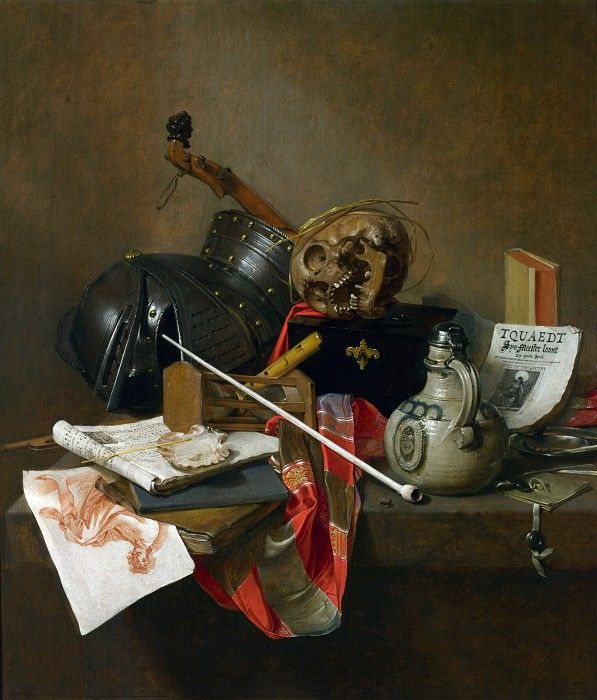 Ян Янс Трек - Натюрморт ванитас. Часть 4 Национальная галерея