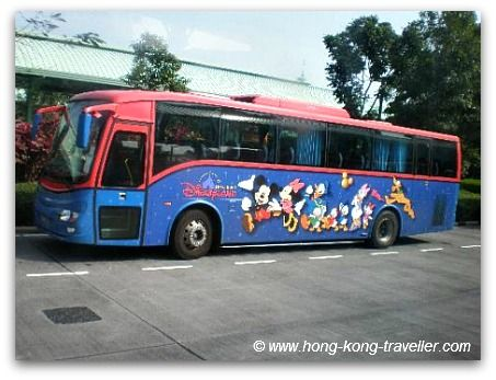 The Hk Disneyland Hotel Shuttle Runs Regularly And Often Between Resort Theme Park Transportation Hub