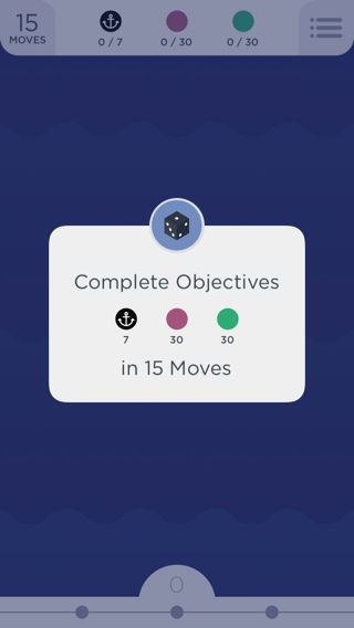 Two Dots iPhone popovers, games screenshot